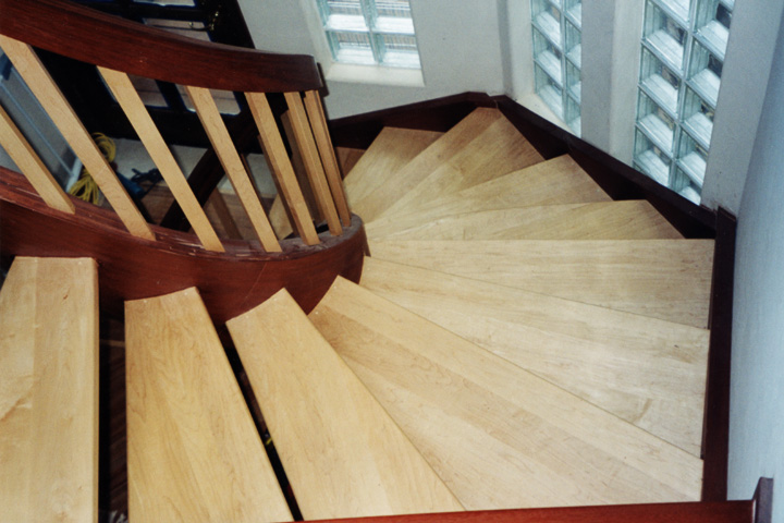 Classical stairways inc wood and metal railing systems